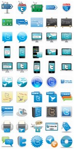 cool free twitter icons
